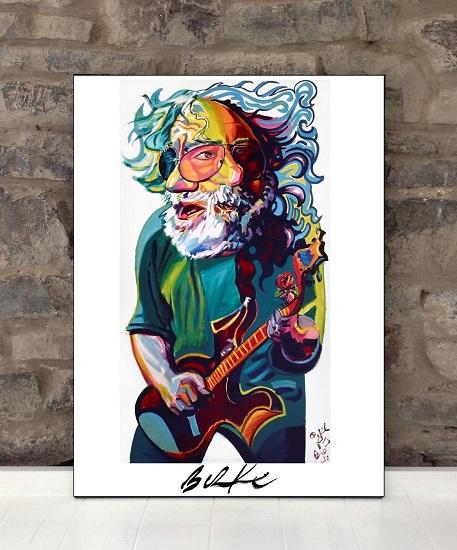 Original Art Wall Poster-Plaque By Philip Burke SKU#000202-P