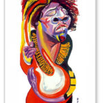 Original Artwork Notecard By Philip Burke SKU#000458-NC