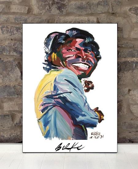 Original Art Wall Poster-Plaque By Philip Burke SKU#000594-P