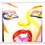 Original Artwork Notecard By Philip Burke SKU#000710-NC