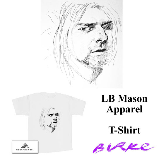 Original Artwork T-Shirt By Philip Burke SKU#002703-AT