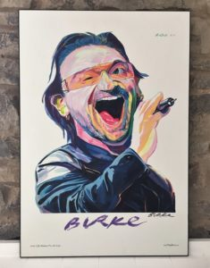 Original Art Wall Poster-Plaque By Philip Burke SKU#011549-P
