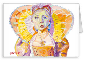 Original Artwork Notecard By Philip Burke SKU#011657-NC