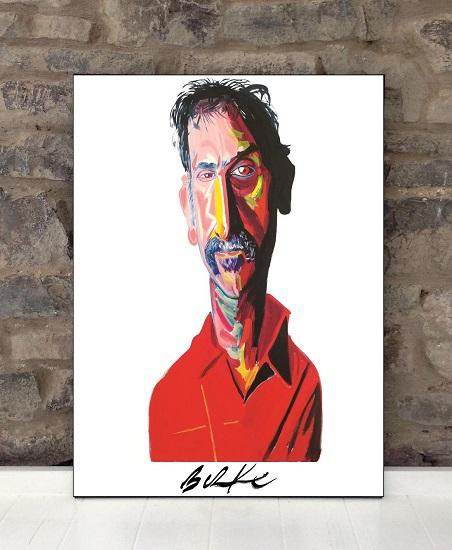 Original Art Wall Poster-Plaque By Philip Burke SKU#000189-P