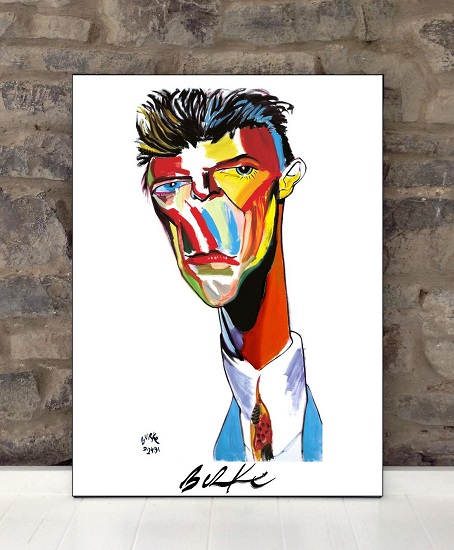 Original Art Wall Poster-Plaque By Philip Burke SKU#000448-P