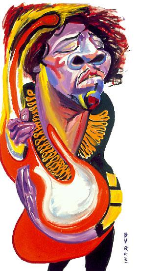 Artwork By Philip Burke SKU#000458