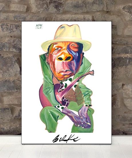Original Art Wall Poster-Plaque By Philip Burke SKU#000485-P