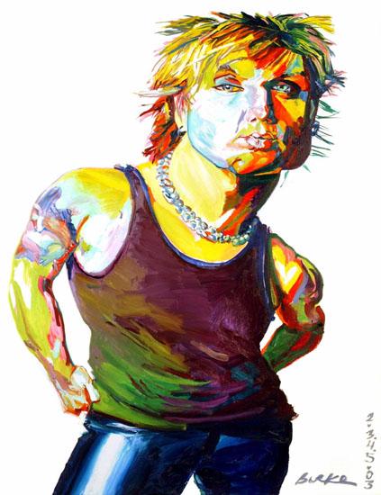 Artwork By Philip Burke SKU#000760