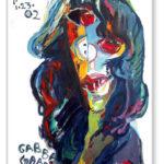 Original Artwork Notecard By Philip Burke SKU#000884-NC