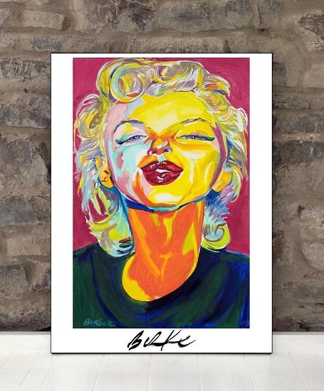 Original Art Wall Poster-Plaque By Philip Burke SKU#010807-P