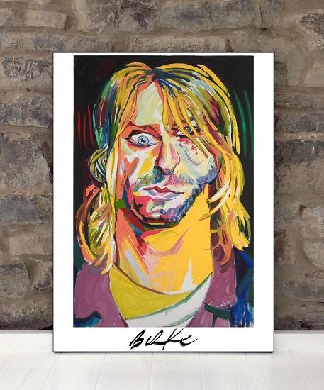 Original Art Wall Poster-Plaque By Philip Burke SKU#011158-P