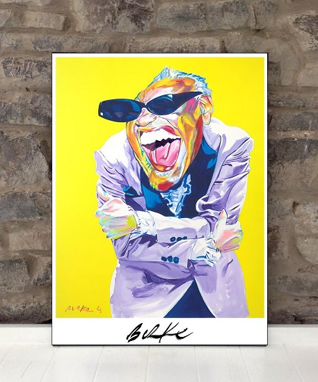 Original Art Wall Poster-Plaque By Philip Burke SKU#011260-P