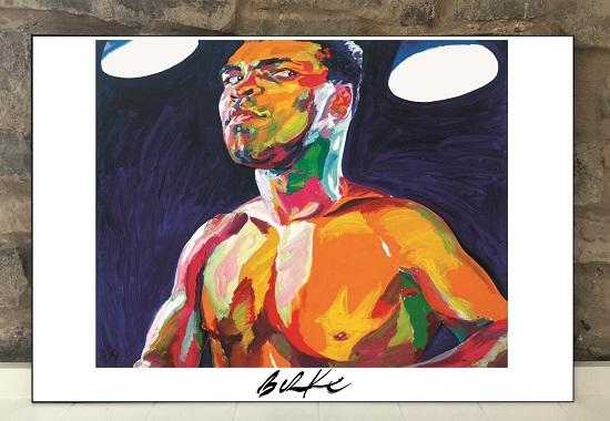 Original Art Wall Poster-Plaque By Philip Burke SKU#011262-P