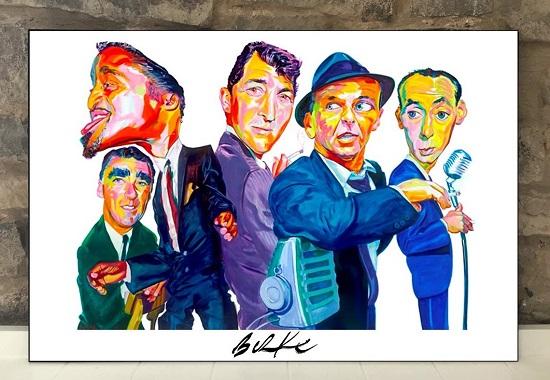 Original Art Wall Poster-Plaque By Philip Burke SKU#012442-P