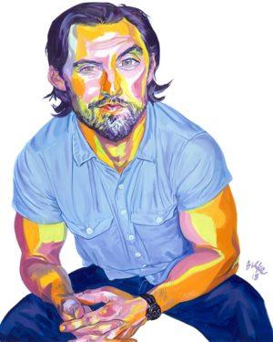 Artwork By Philip Burke SKU#012467